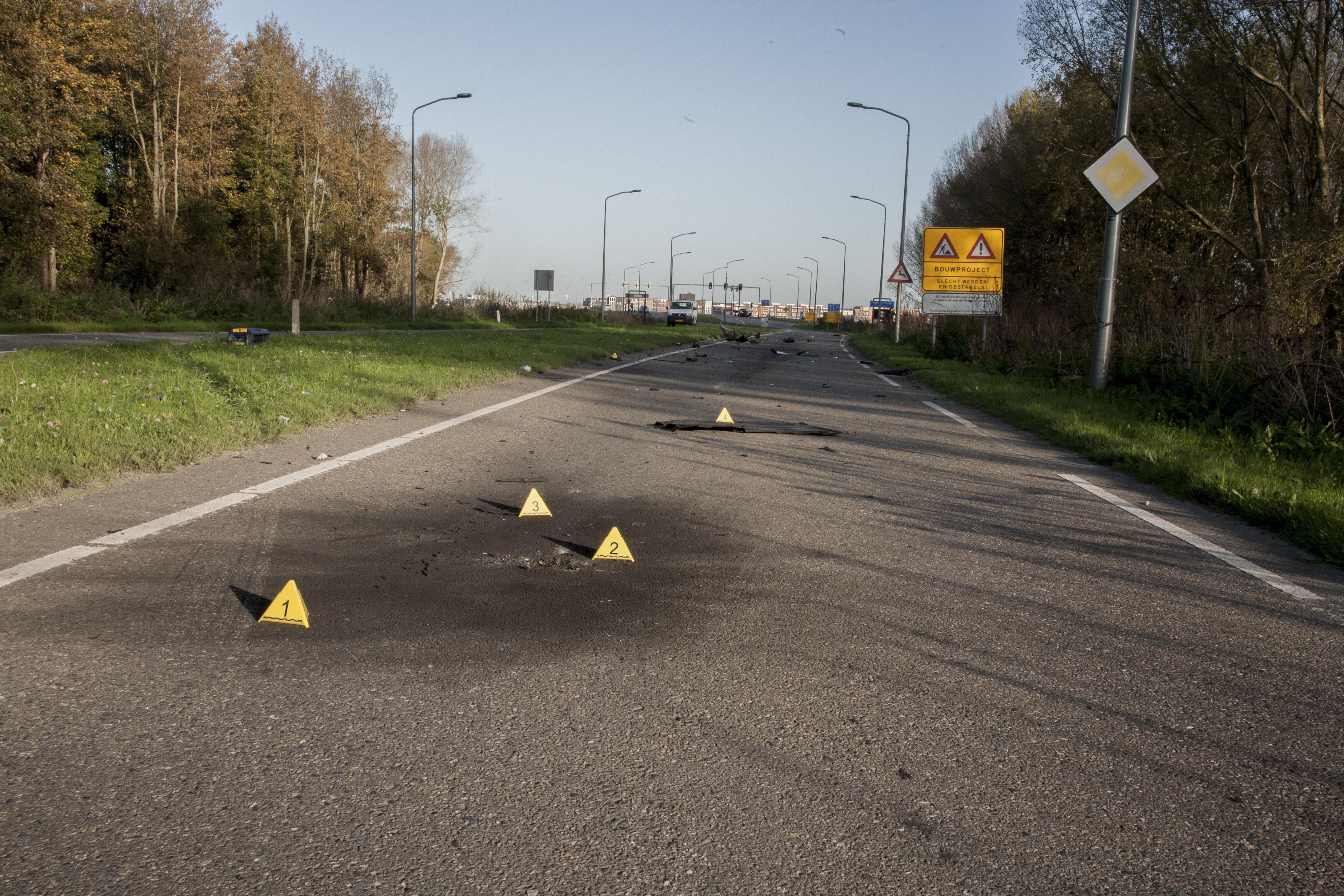 Explosief onder auto en poging moord op de Poortdreef Almere