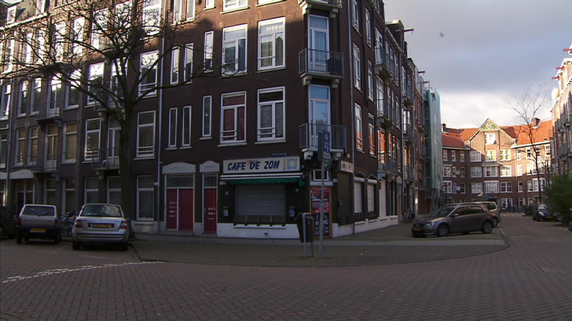 Liquidatiepoging café De Zon in de Pretoriusstraat