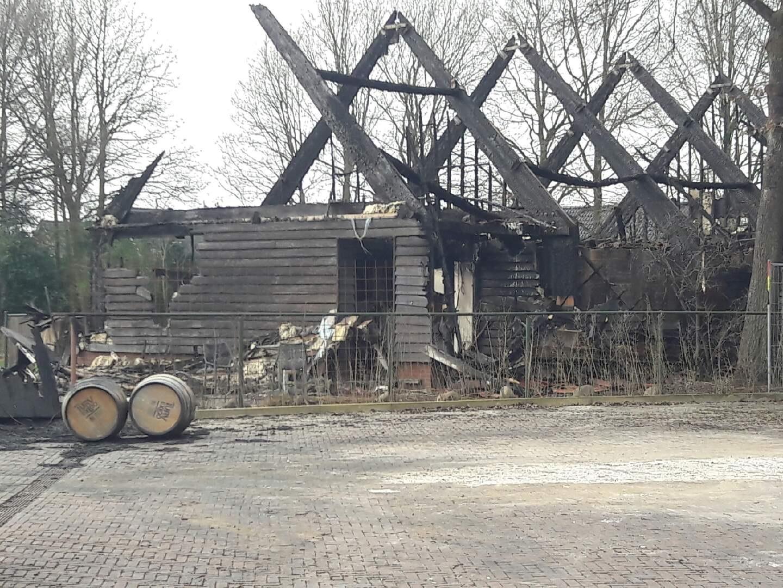 Onderzoek naar brand in distilleerderij Exloo