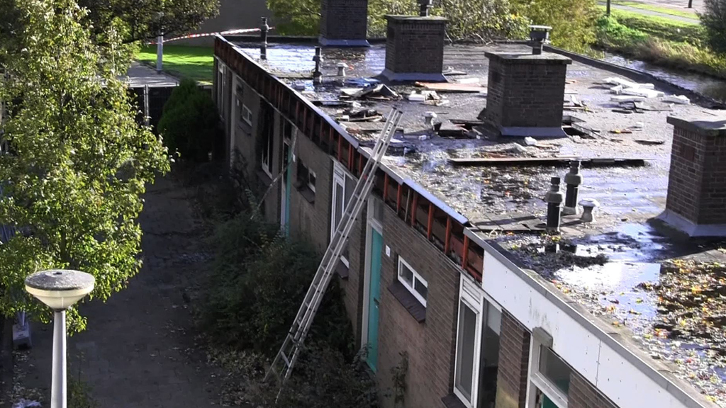 Vondst lichaam Radi Houting (46) na woningbrand aan de Elisabeth Boddaerstraat