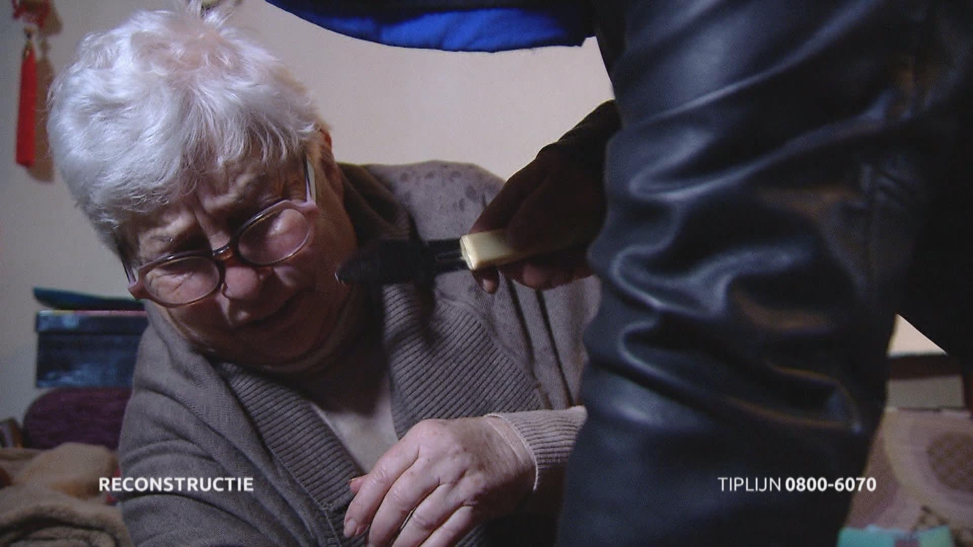 Overval bejaarde vrouw in Eindhoven