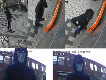Politie zoekt inbreker