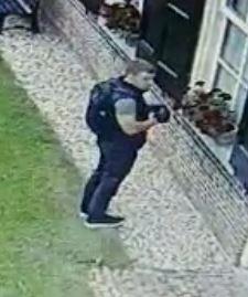 Politie zoekt herkenning van inbreker