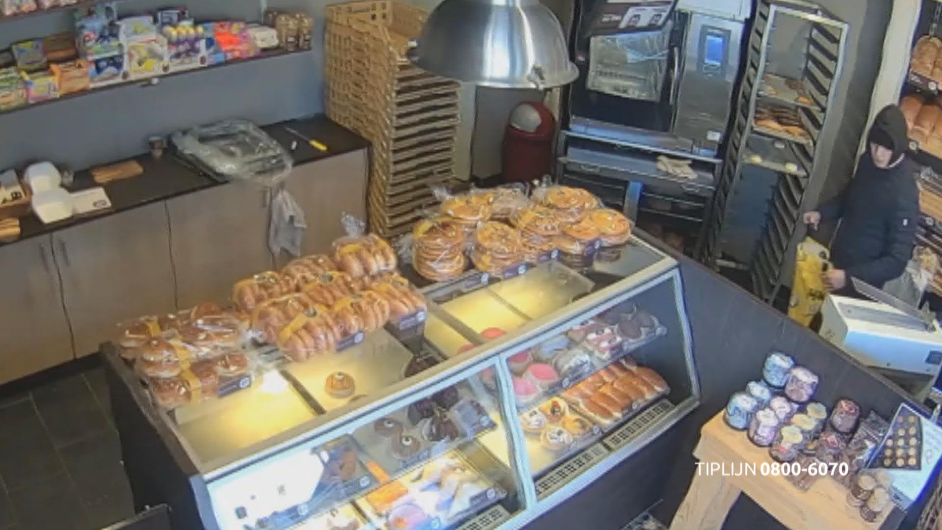 Tilburg - Gezocht - Overval op een bakkerij