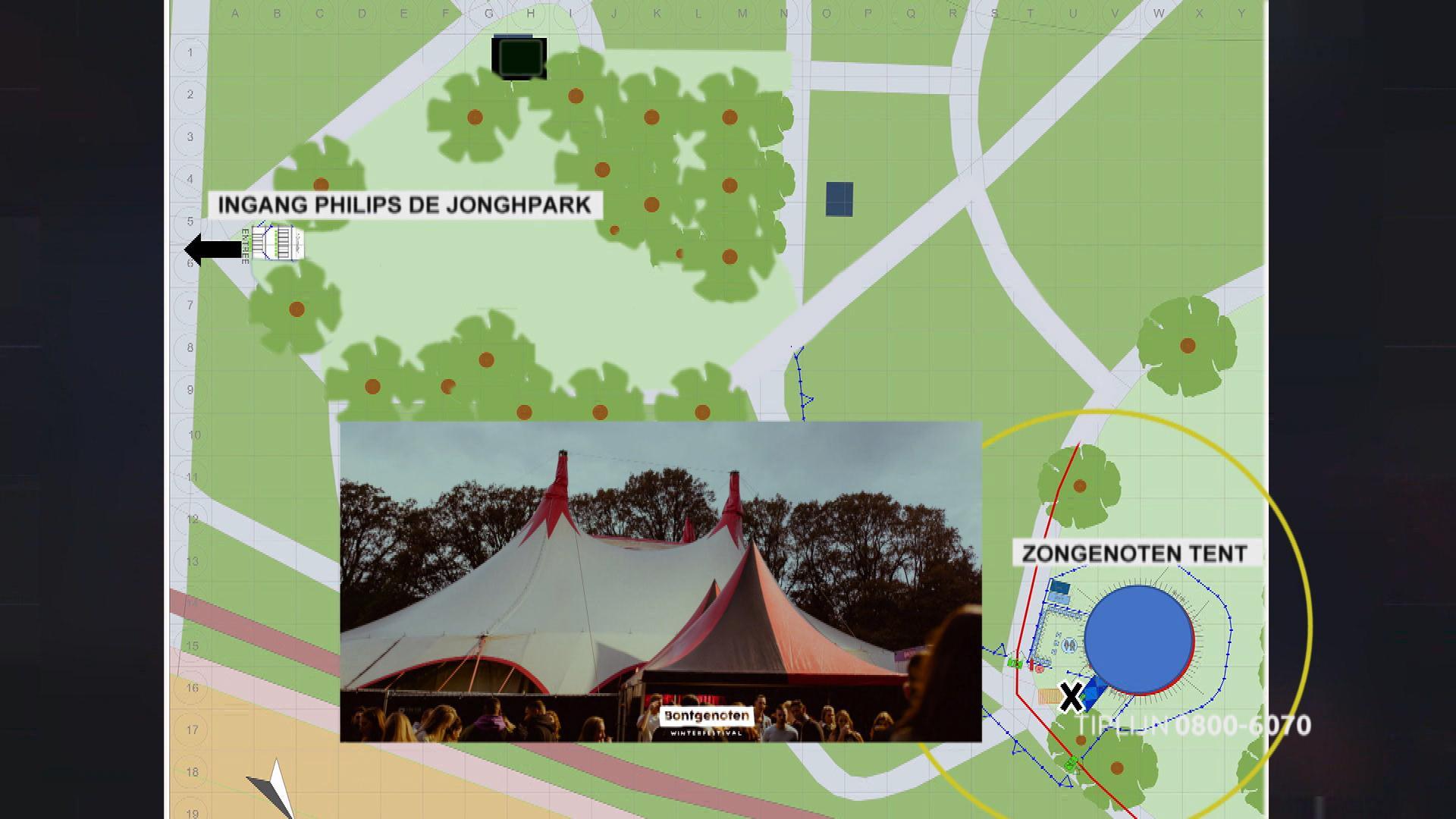 Eindhoven - Gezocht - Ernstige mishandeling tijdens festival in Eindhoven