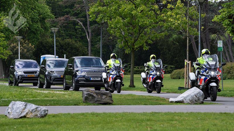 Bezoek prins Harry: politiewerk in beeld