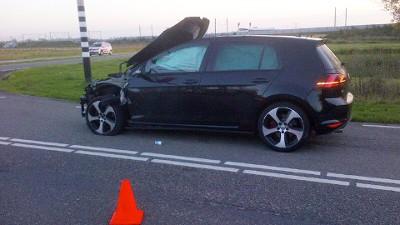 VW Golf opgeblazen
