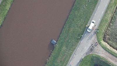 luchtfoto plaats delict