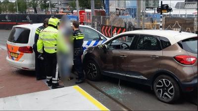 Amsterdam - Automobilist aangehouden na achtervolging