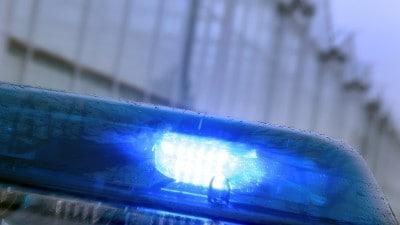 Detailfoto van een zwaailicht