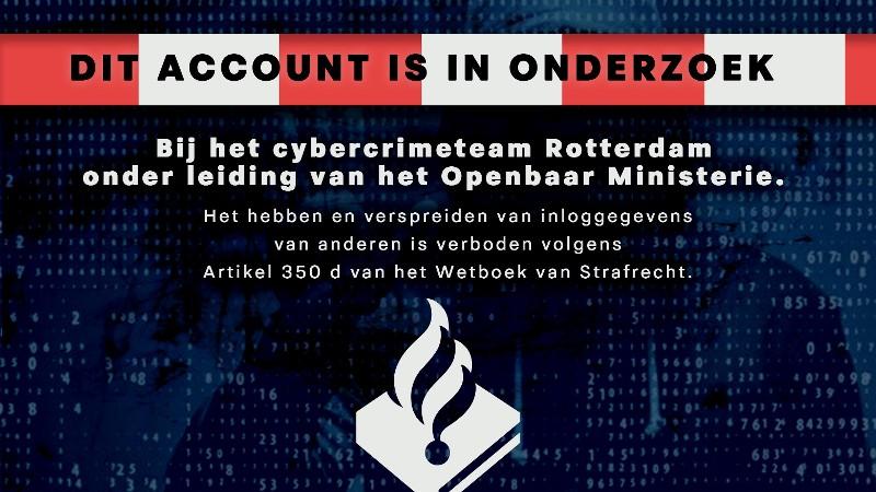 Banner Cybercrimeteam Rotterdam