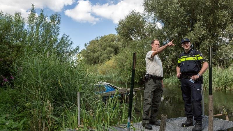 Biesbosch - Politie En Staatsbosbeheer Werken Samen In Biesbosch