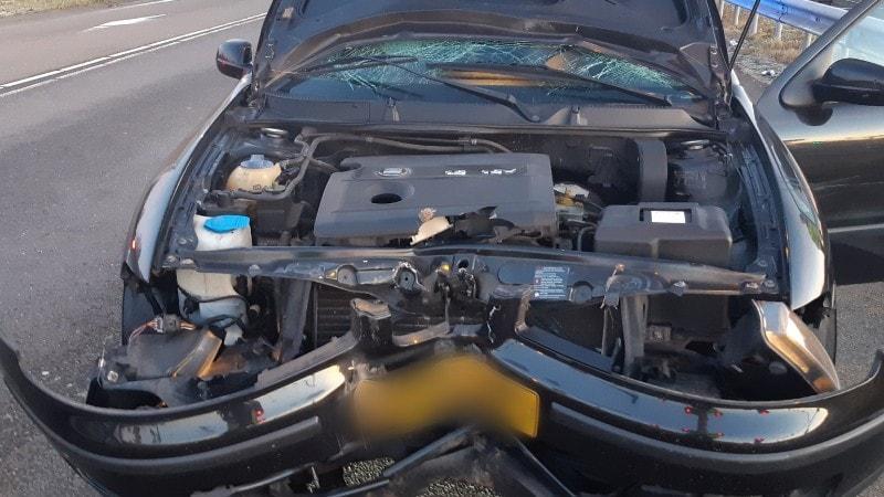 Gevaarlijke Automobilist Van De Weg Gehaald