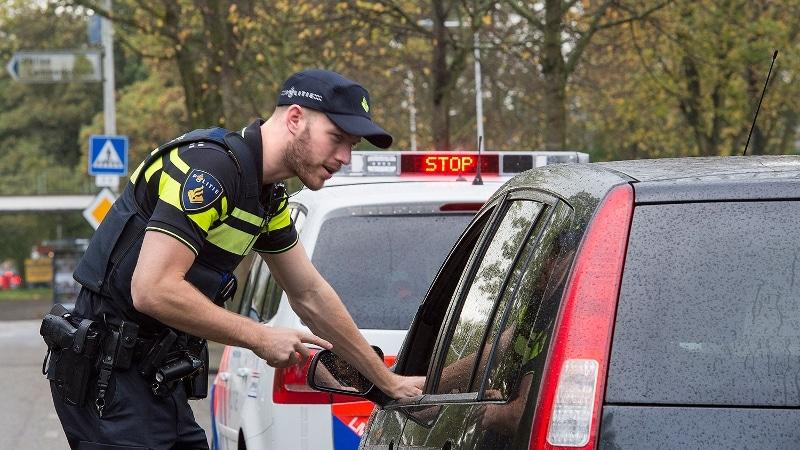 Stockfoto politie