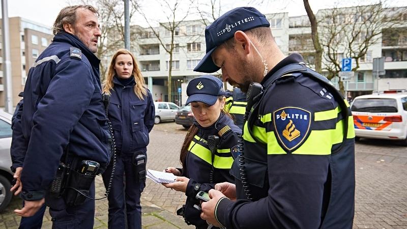 loon agent van de politie